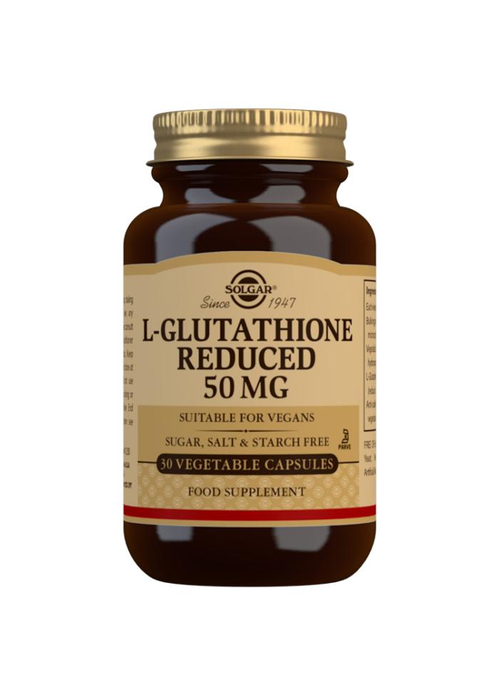 L-GLUTATHIONE REDUCED 50MG 30S