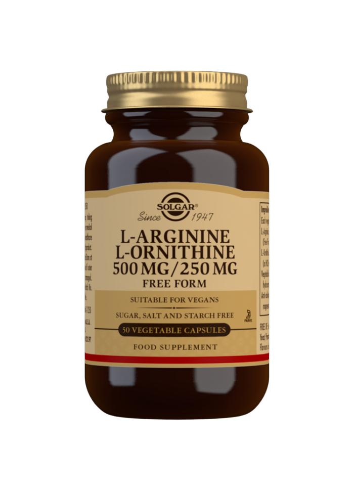 L-ARGININE/L-ORNITHINE 500MG/250MG 50S