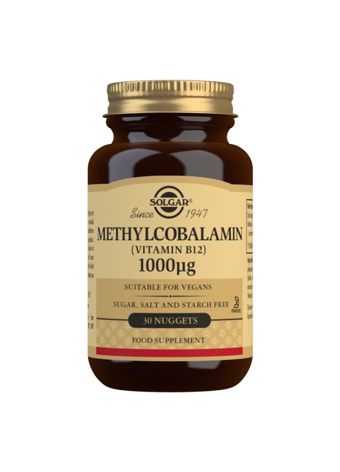 METHYLCOBALAMIN (VITAMIN B12) 1000 UG 30S