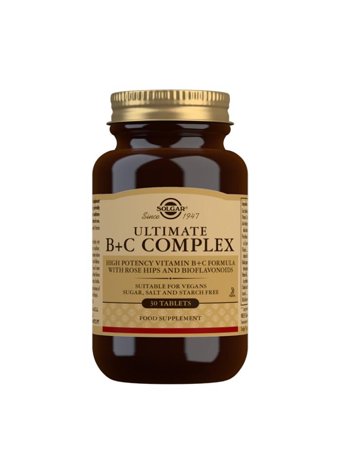 SOLGAR ULTIMATE B+C COMPLEX 30S