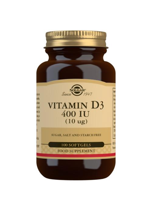 VITAMIN D3 400IU (10UG) 100S