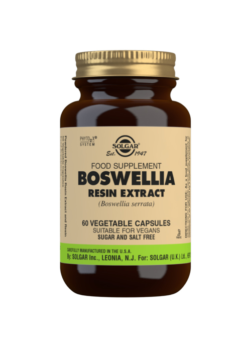 SOLGAR BOSWELLIA RESIN EXTRACT 60S