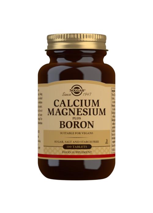 CALCIUM MAGNESIUM PLUS BORON 100s