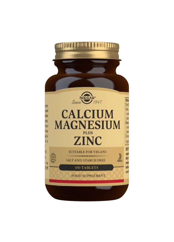Calcium Magnesium and Zinc 100s