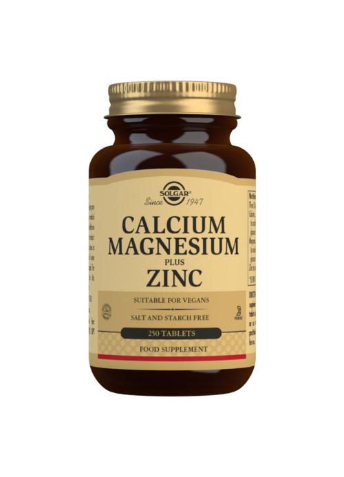Calcium Magnesium and Zinc 250s
