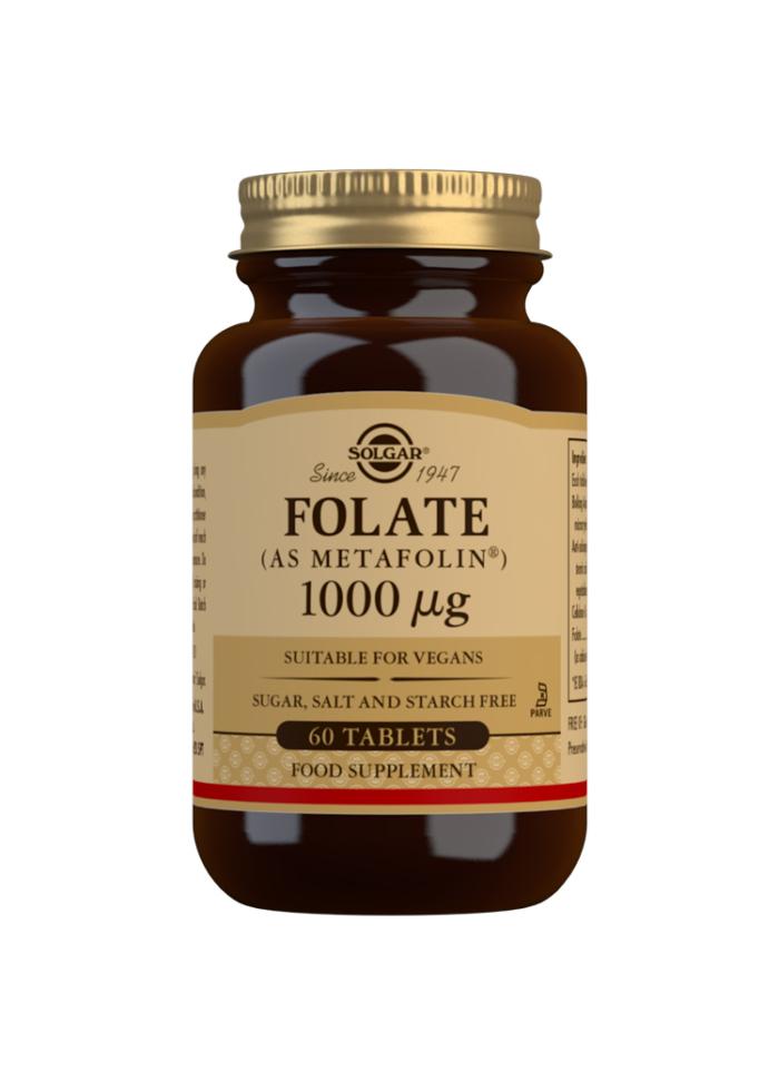 Folate 1000ug 60s