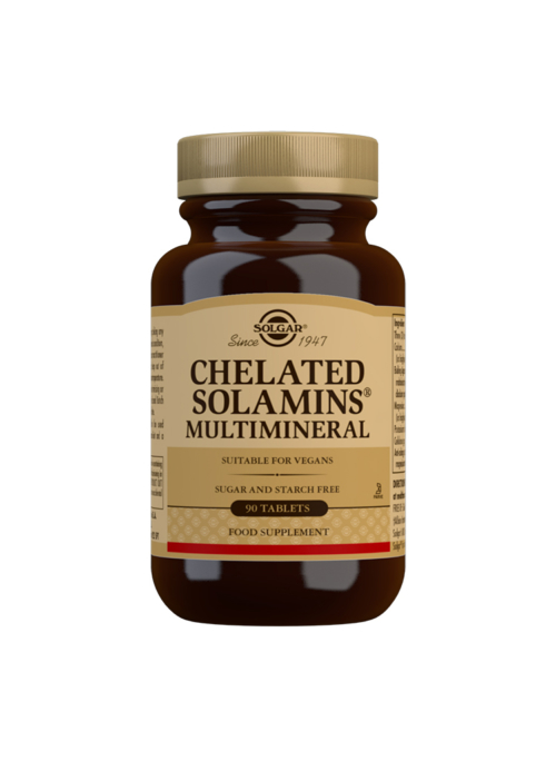 CHELATED SOLAMINS MULTIMINERAL 90S