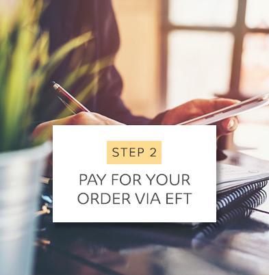 Order Via EFT